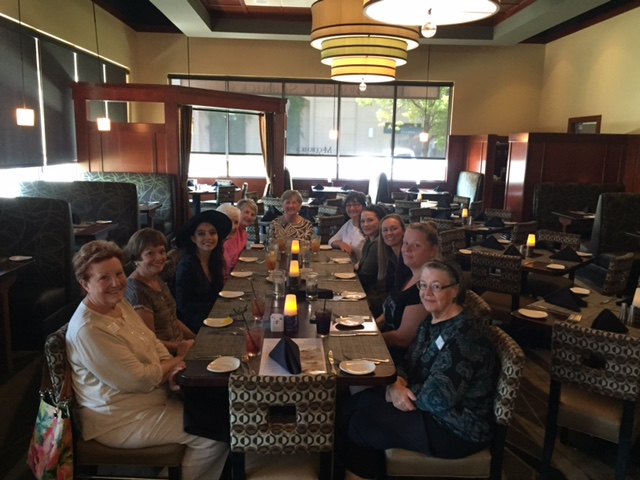 August Scholarship Luncheon with Sierra College students and Board Members