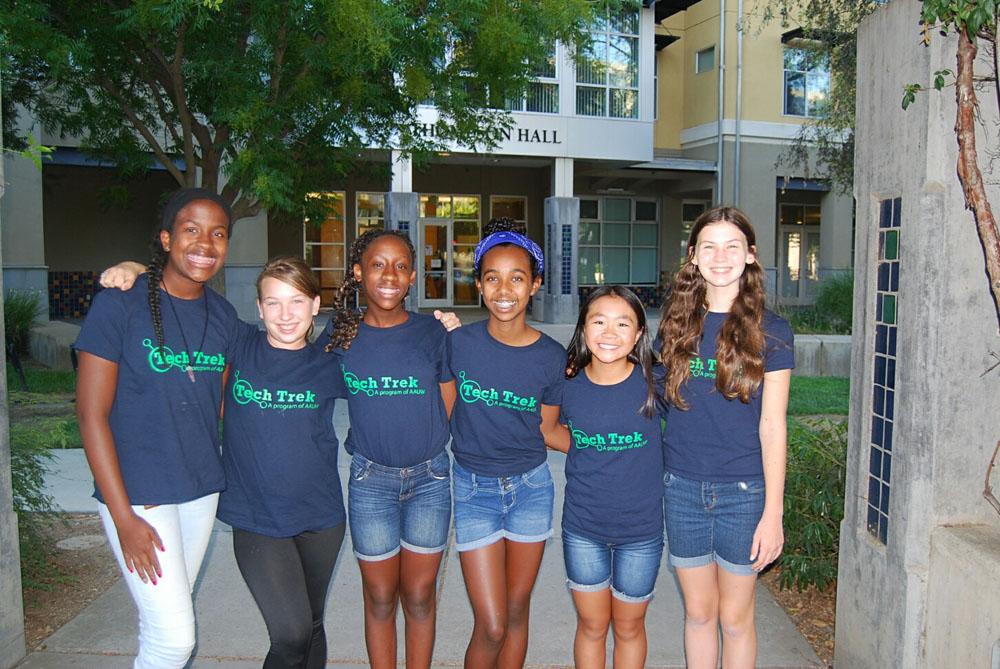 Tech Trek Girls 2016